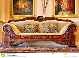antique sofa from historical wine estate stock photo image 11106116