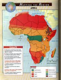 Africa Map by Lesson Plan Map Of The Biomes Of Africa