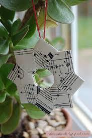 o que é meu é nosso origami guirlanda ornament