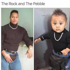 Rock Meme - dopl3r com memes the rock and the pebble