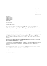 9 resignation letter bibliography sample letter of resume