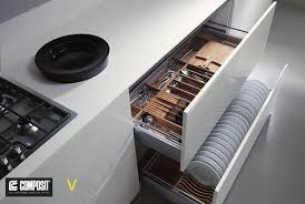 modern kitchen cabinets tools this is a clever way to store plates although i