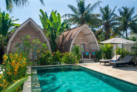island resort accommodation