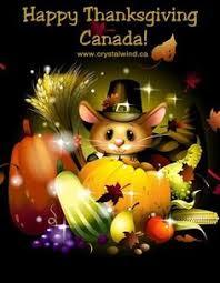 october 14th happy thanksgiving canada happy holidays
