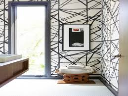 Kelly Wearstler Wallpaper by Dining Room Kelly Wearstler Channels Wallpaper Bathroom Black