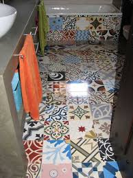 Different Types Of Flooring For Bathrooms Patchwork Tiles Mix And Match Your Favorite Colors For A