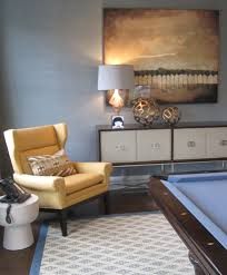 Traditional Family Rooms by Sideboard With Yellow Armchair Family Room Traditional And