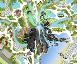 Map Of Islands Of Adventure Orlando by Ko U0027okiri Body Plunge Universal U0027s Volcano Bay