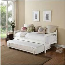 White Wood Daybed With Trundle White Wood Daybed Trundle