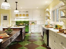 Green And White Kitchen Cabinets 260 Best Hgtv Kitchens Images On Pinterest Dream Kitchens Hgtv