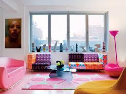 decorating modern pop loft apartment living room interior