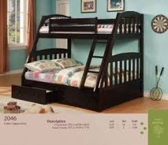 Full Bed With Storage Twin Over Full Bunk Bed With Storage Drawers Foter