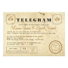 telegram wedding invitation personalized party invitations announcements party invitations