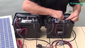 lake lite 24v boat lift solar system wiring instructions youtube
