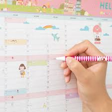 new 2016 calendar wall calendar monthly planner paper hanging new 2016 calendar wall calendar monthly planner paper hanging sticker home office decor