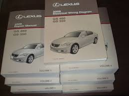 2008 lexus gs350 gs460 repair manual 7 volume set gs 350 gs 460