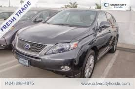 lexus rx hybrid used used lexus rx 450h for sale in los angeles ca 27 used rx 450h
