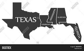 Texas Map Images Texas Louisiana Mississippi Alabama Florida Map Labelled