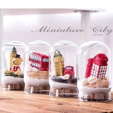 online shop new arrival 4pc lot london city theme glass bottle