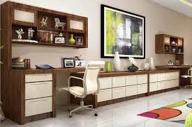 Awesome Home Office Cabinet Design Contemporary Interior Design - Custom home office designs