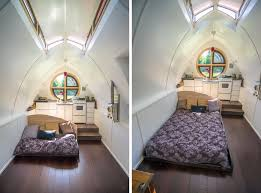 tiny house bed options dewdrop tiny house pull out bed