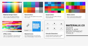 Popular Color Palletes Material Design Color Flat Colors Icons Color Palette Material Ui