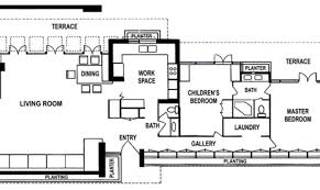 new york usonian exhibition house trier house plans 81667