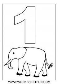 preschool coloring pages with numbers number coloring 1 10 free printable worksheets worksheetfun