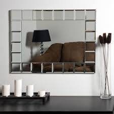 home decor stores montreal décor wonderland frameless tri bevel wall mirror 23 5w x 31 5h