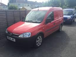 vauxhall combo 2004 1 3 diesel van red manual 12 months mot