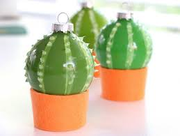 diy cactus bauble ornaments my poppet makes