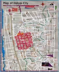 map of hat yai hat yai city