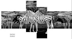 aliexpress buy no frame black white africa zebra deer animal