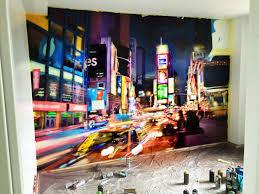 chambre theme new york chambres d u0027enfants u2013 decograffik deco graff bureaux entreprise