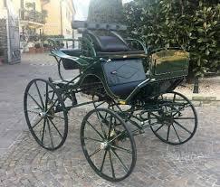 carrozze in vendita carrozza per cavallo paithon da singolo animali in vendita a brescia