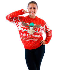 s vacation marty moose walley world sweater