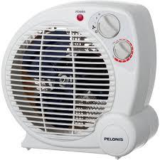 pelonis 1 500 watt fan compact personal electric portable heater