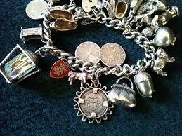 solid silver charm bracelet images Antiques atlas vintage solid silver charm bracelet with 20 charms jpg