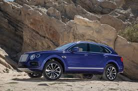 matte bentley 2017 bentley bentayga first test review motor trend