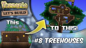 Terraria Tree House Design