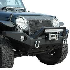 jeep front bumper 07 16 jeep wrangler jk aluminum full width front bumper