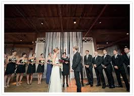 Wedding Altar Backdrop New York Metropolitan Building Wedding Lindsay David 100