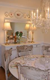 dining room white furniture crystal chandelier pressed