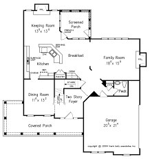 1 floor house plans craftsman style house plan 4 beds 2 50 baths 2443 sq ft plan 927 1