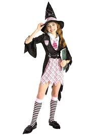 Abbey Bominable Halloween Costume Girls Charm Witch Costume
