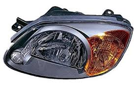 hyundai elantra 2005 headlight bulb amazon com hyundai accent replacement headlight assembly 1 pair