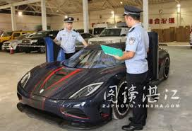koenigsegg factory import officials seize koenigsegg agera r blt immediately burn
