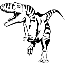rex dinosaur free coloring pages art coloring pages