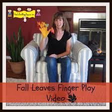 thanksgiving video ideas fall leaves finger play video how to run a home daycare