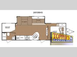 Bunkhouse Trailer Floor Plans Dutchmen Aspen Trail 2810bhs Bunkhouse Travel Trailer Time For
